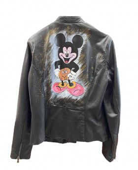 Mickey Mouse Leather Jacket...