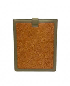 Patchwork leather case for Tablet