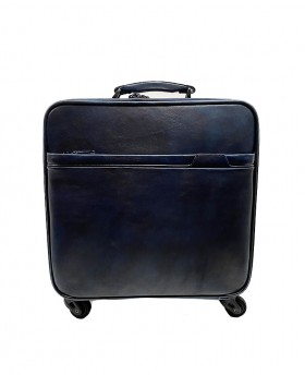 24h Leather Suitcase