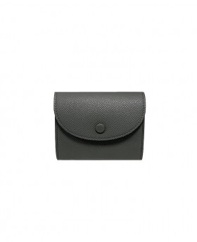 Small rounded Leather Wallet