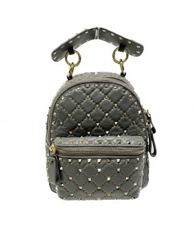 Studded small backpack