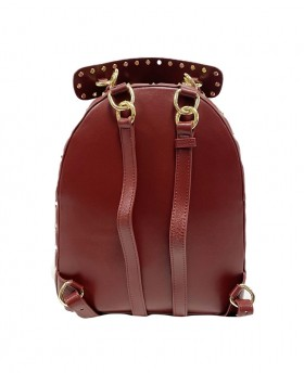 Studded large backpack