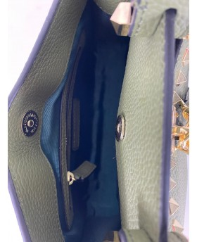 Handbag with studs Small