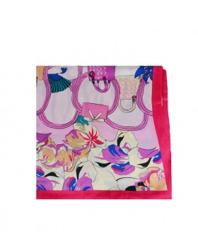 Rectangular foulard with...