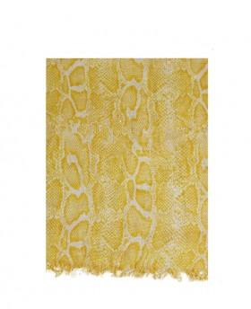 Foulard with Python pattern