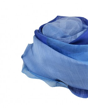 Shaded foulard 100% Silk