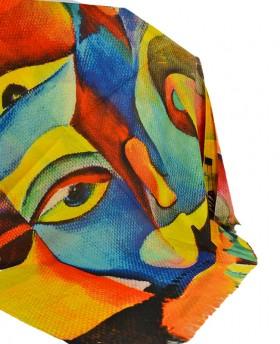 Foulard with pattern