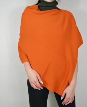 Poncho in maglia (taglia Unica)