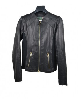 copy of Leather jacket with...