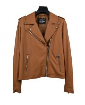 Rock style leather jacket...