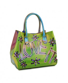 copy of Hand-painted Leather Handbag