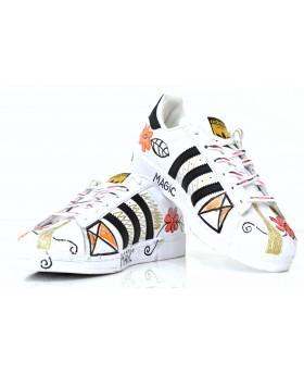 Sneaker Dipinta a Mano  ...