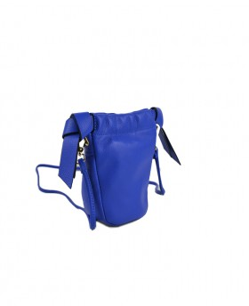 Micro Bag with double bow and shoulder strap