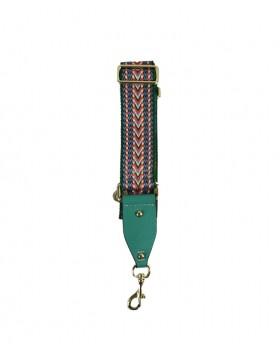 Fabric shoulder strap