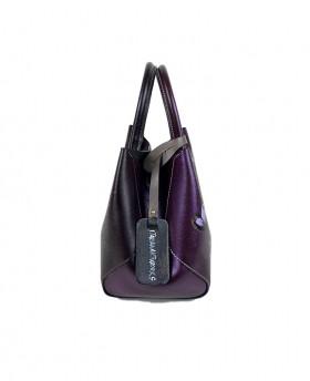 Small Hand-painted Leather Handbag
