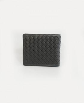 Men's wallet in woven leather