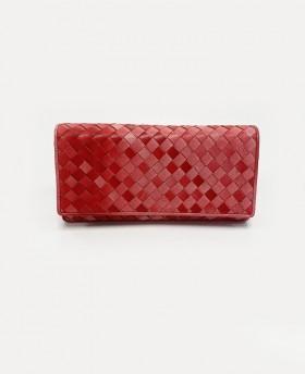 Woven degradè wallet