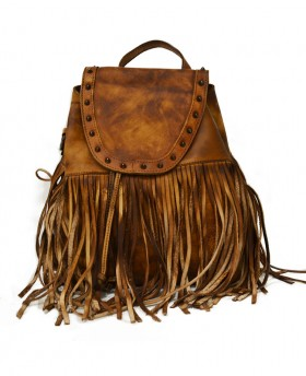 Vintage style backpack with...
