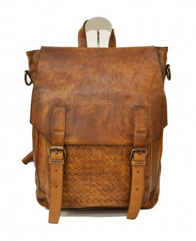 Vintage style backpack