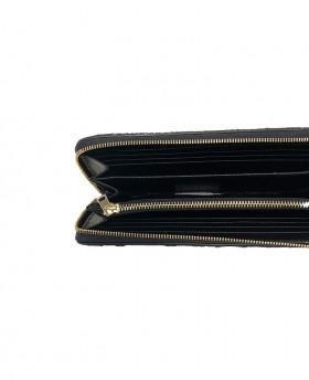 Calf hair wallet